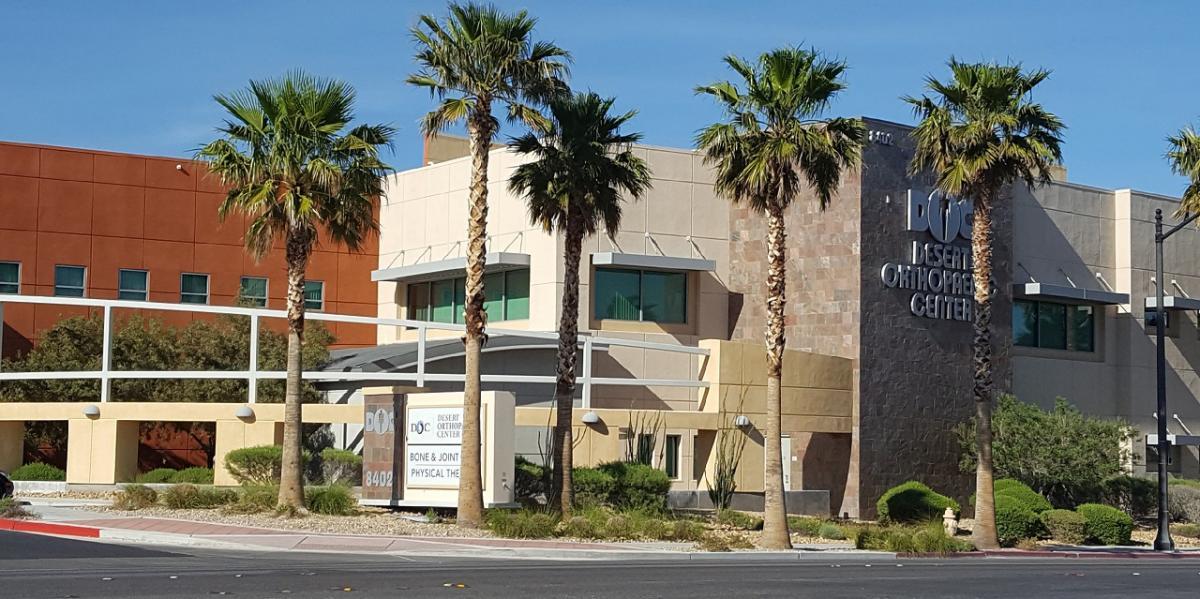 Home | Desert Orthopaedic Center, Las Vegas